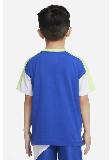 Baby blue nike short sleeve t-shirt. NIKE | T-shirt | 86H801-U89U89