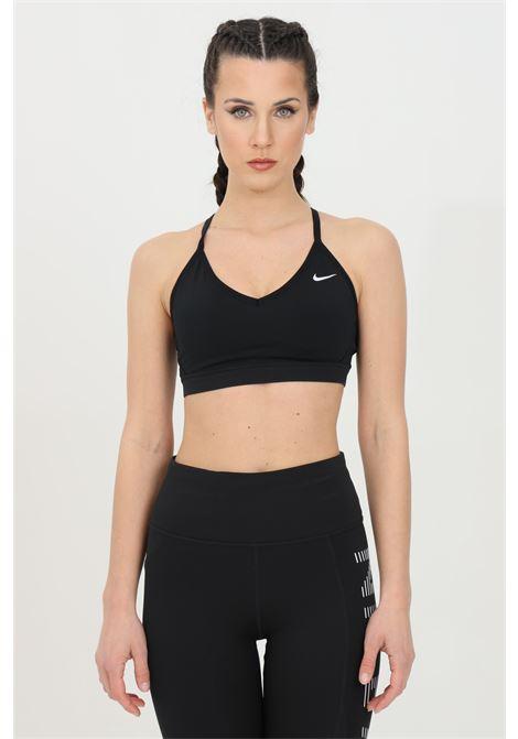 Top donna nero nike sport, reggiseno sportivo indy light support NIKE | Top | 878614011