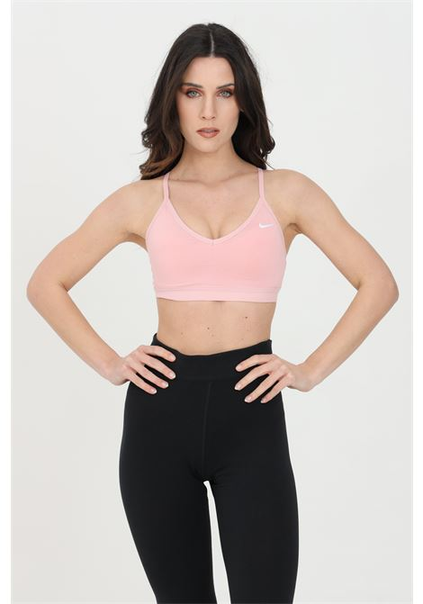 Pink indy light support top, sports bra. Nike NIKE | Top | 878614633