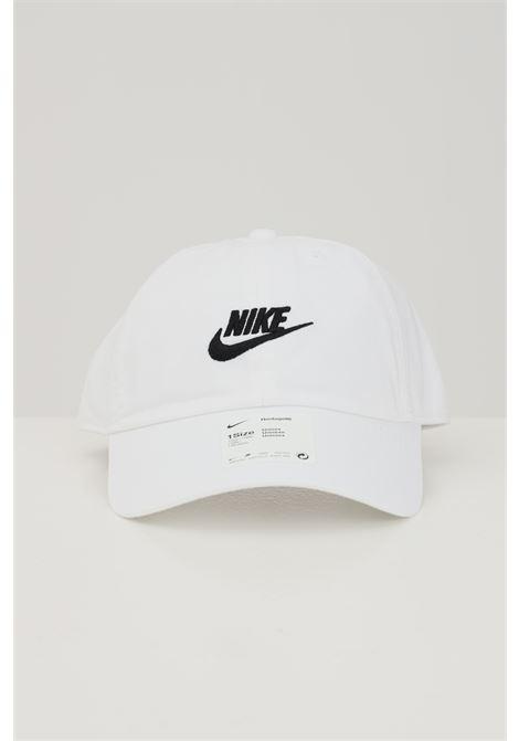 Cappello in cotone con logo frontale NIKE | Cappelli | 913011100