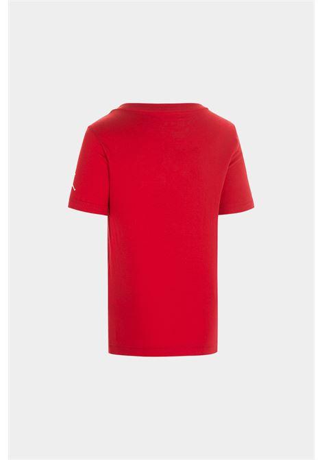 T-shirt bambino/a rosso nike-jordan  NIKE | T-shirt | 955175-R78R78
