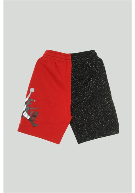 Short bambino rosso-nero Nike con logo laterale NIKE | Shorts | 956903-R78R78