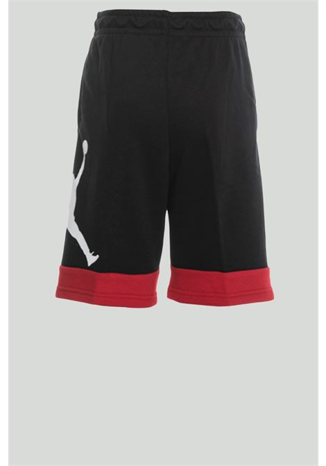 Black shorts with spring at the waist. Baby model. Brand: Nike-Jordan NIKE | Shorts | 95A289-023023