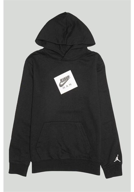 Felpa bambino nero Nike-Jordan con cappuccio NIKE | Felpe | 95A294-023023