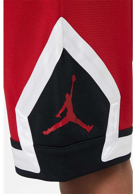 Red shorts with elastic waistband. Baby model. Brand: Nike-Jordan NIKE | Shorts | 95A432-R78R78