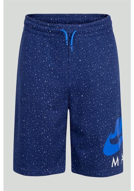 Shorts Jumpman Speckle bambino blu Nike-Jordan NIKE | Shorts | 95A439-U9JU9J
