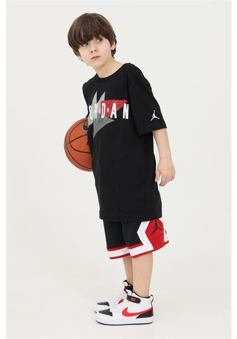 Black baby t-shirt, short sleeve. Nike jordan NIKE   T-shirt   95A562-02323