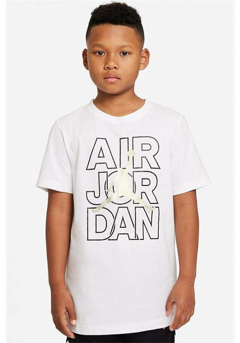 White Nike Jordan Baby T-shirt with Print NIKE | T-shirt | 95A616-001001