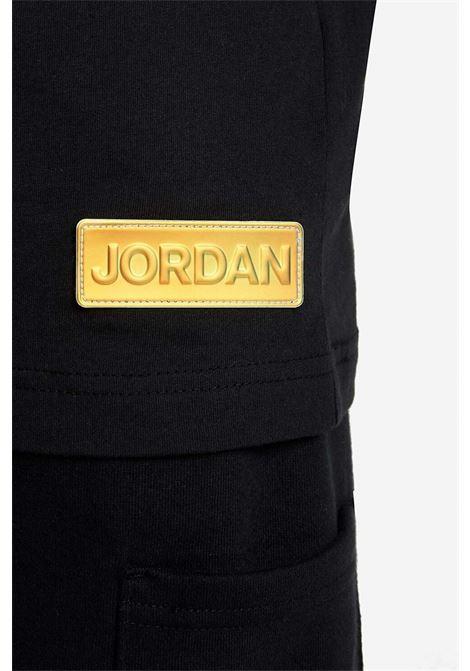 Black nike jordan t-shirt with print NIKE | T-shirt | 95A616-023023