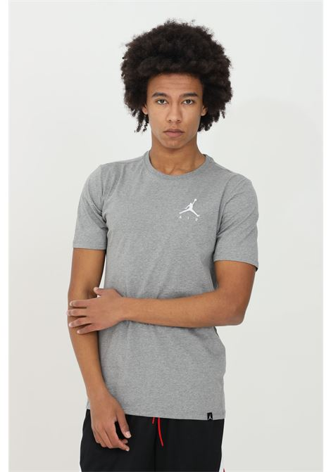 Grey t-shirt short sleeve nike jordan NIKE   T-shirt   AH5296091