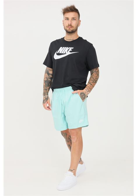 Shorts mare uomo turchese nike con logo a contrasto NIKE   Beachwear   AR2382382