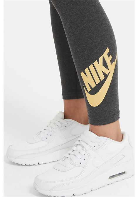 Black Sportswear Favorites leggings. Baby model. Brand: Nike NIKE | Leggings | AR4076032