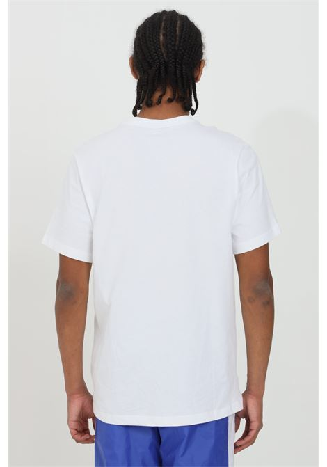 T-shirt uomo bianco nike a manica corta con stampa frontale NIKE   T-shirt   AR5006100