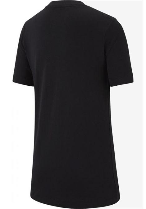 Nike boy's black crewneck t-shirt NIKE | T-shirt | AR5252-013013