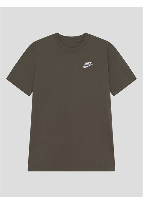 Brown baby t-shirt with small logo in contrast nike NIKE | T-shirt | AR5254326