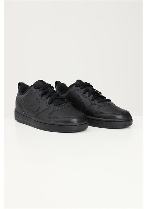 Black sneakers nike court borough low 2 unisex nike NIKE   Sneakers   BQ5448001