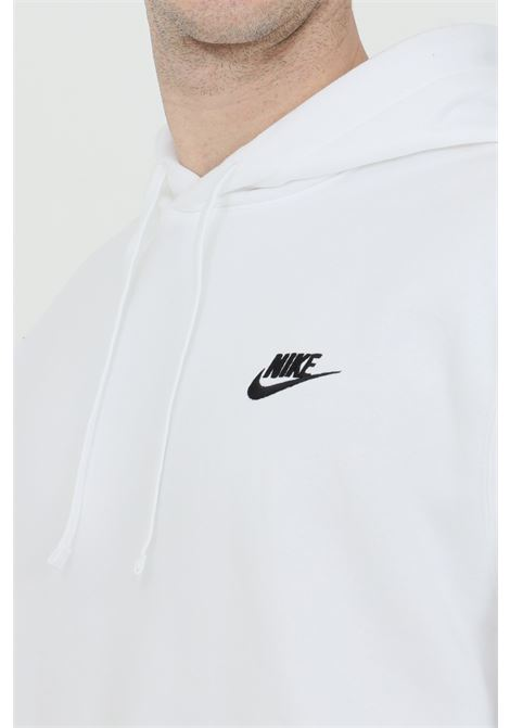 White hoodie with laces. Nike NIKE | Sweatshirt | BV2654100