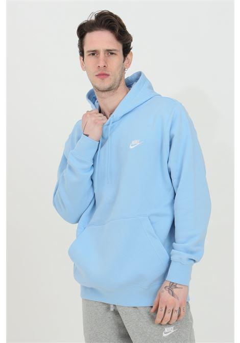 Light blue hoodie with laces. Nike NIKE | Sweatshirt | BV2654436