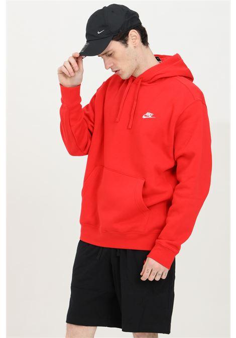 Red hoodie with laces. Nike NIKE | Sweatshirt | BV2654657