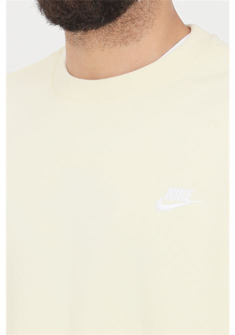 Milk sweatshirt with front logo. Nike NIKE | Sweatshirt | BV2662113