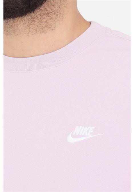 Lilac sweatshirt with front logo. Nike NIKE | Sweatshirt | BV2662576