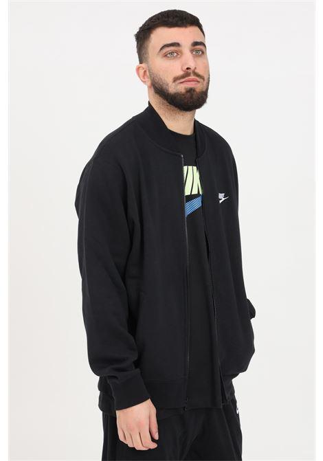 Black sweatshirt with zip. Nike NIKE | Sweatshirt | BV2686010