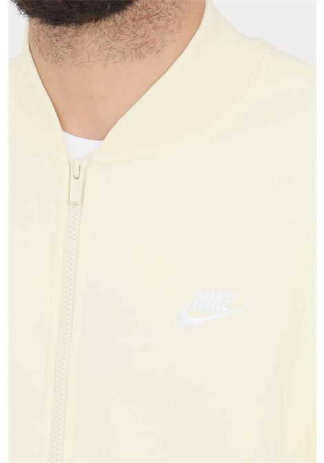 Light orange sweatshirt with zip. Nike NIKE | Sweatshirt | BV2686113