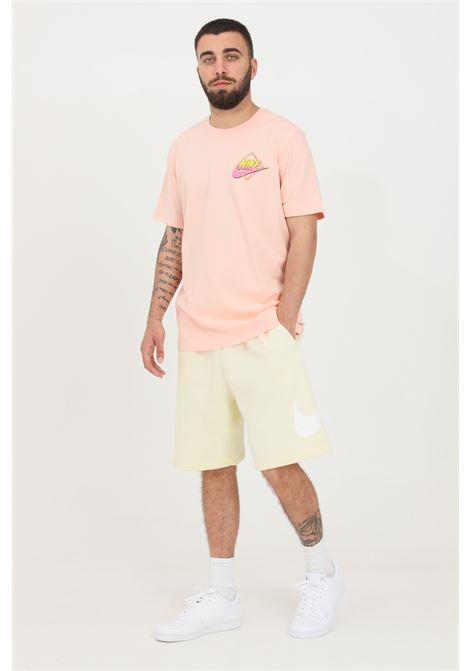 Milk men's shorts with contrasting logo nike NIKE | Shorts | BV2721113