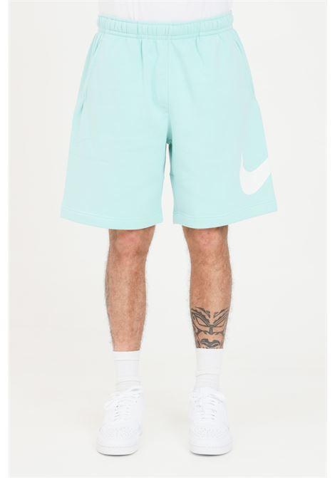 Turquoise men's shorts with contrasting logo nike NIKE | Shorts | BV2721382