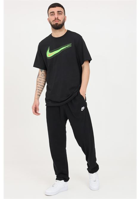 Black sweatpants with elastic waistband and laces. Nike NIKE | Pants | BV2766010