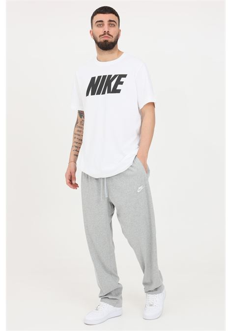 Grey sweatpants with elastic waistband and laces. Nike NIKE | Pants | BV2766063