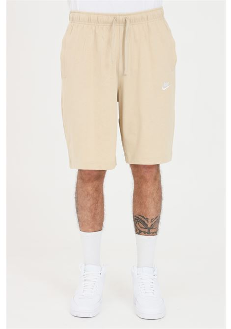 Beige shorts with small logo in contrast. Nike  NIKE   Shorts   BV2772224
