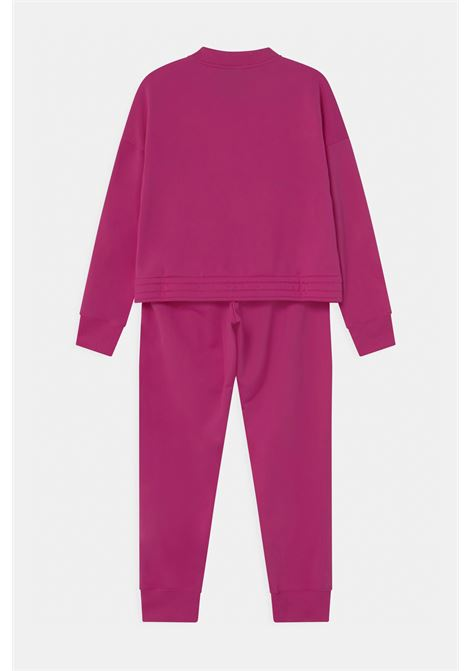 Fuchsia suit with mini logo in contrast. Baby model. Brand: Nike NIKE | Suit | BV3634615