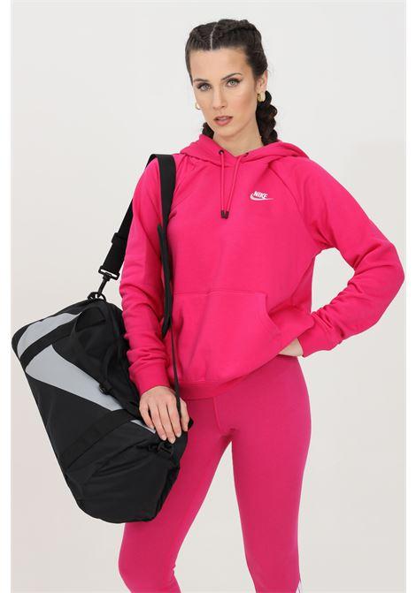 Felpa pullover in fleece con cappuccio NIKE | Felpe | BV4124616