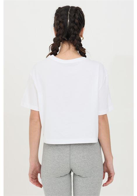 T-shirt donna bianco nike a manica corta taglio corto NIKE | T-shirt | BV6175100