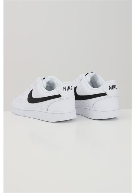White nike court vision sneakers with side contrasting logo NIKE | Sneakers | CD5463101