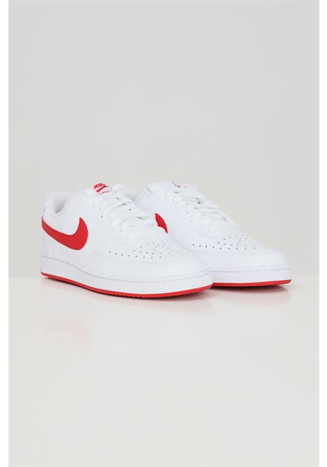White nike court vision sneakers with side contrasting logo NIKE | Sneakers | CD5463102