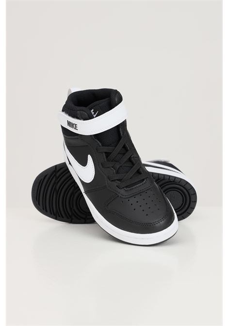 Sneakers court borough mid 2 bambino unisex nero nike NIKE | Sneakers | CD7783010