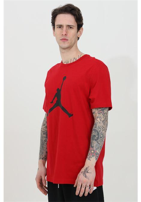 Red men's t-shirt short sleeve nike NIKE   T-shirt   CJ0921687