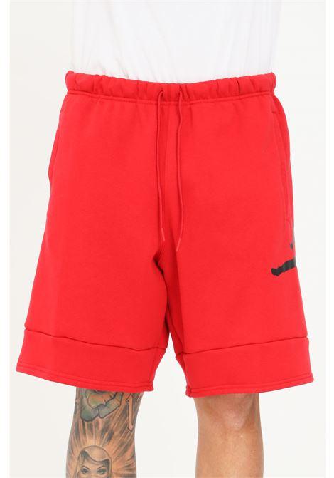 Red men's shorts nike with contrastign jordan logo NIKE   Shorts   CK6707687