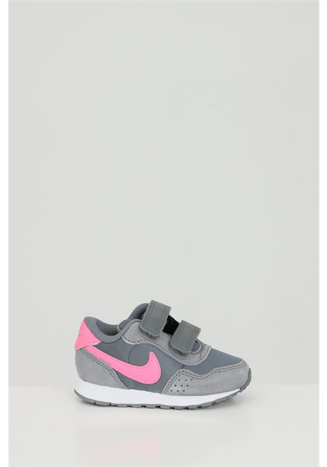 Grey MD Valiant sneakers in solid color, velcro closure. Brand: Nike NIKE | Sneakers | CN8560011