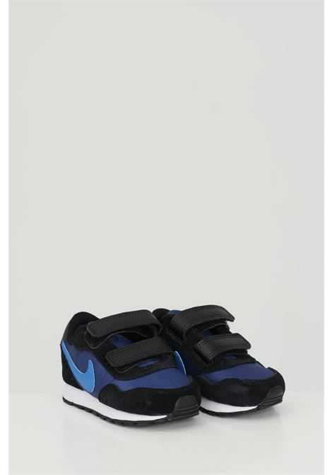 Blue MD Valiant sneakers in solid color, velcro closure. Brand: Nike NIKE | Sneakers | CN8560412