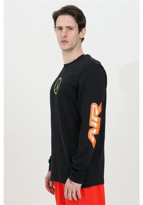 Black t-shirt long sleeve nike NIKE   T-shirt   CV3000010