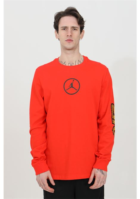 Red t-shirt long sleeve nike  NIKE   T-shirt   CV3000673