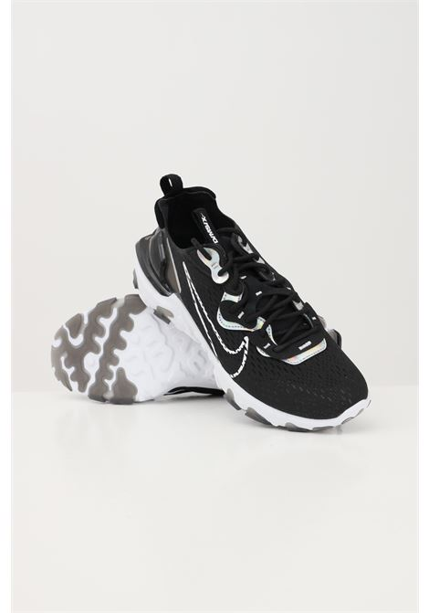 Black unisex w nike nsw react vision essential sneakers NIKE   Sneakers   CW0730001