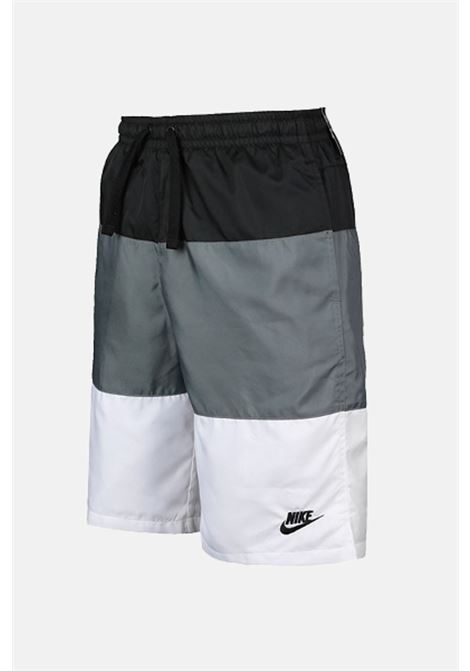 Multicolor baby shorts with small logo in contrast nike NIKE | Beachwear | CW1021010
