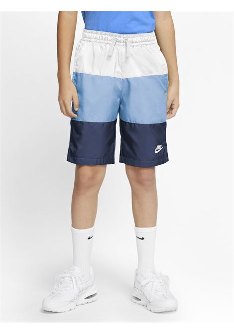 Multicolor shorts with small logo in contrast nike NIKE | Beachwear | CW1021101