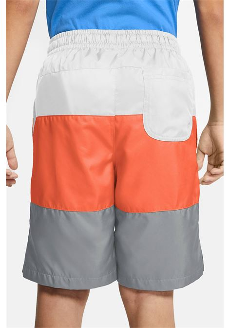 Multicolor baby shorts with small logo in contrast nike NIKE | Beachwear | CW1021102