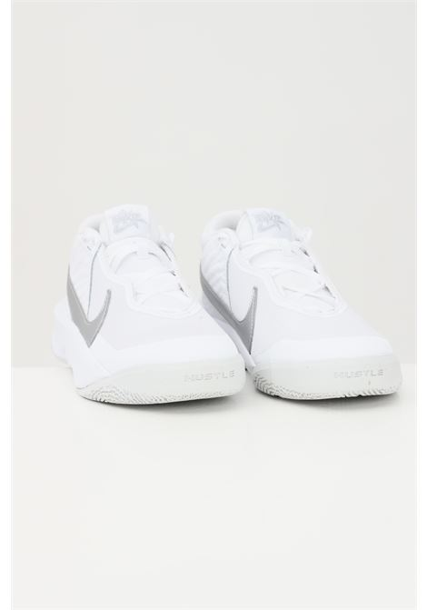 Sneakers team hustle d10 donna bianco-argento nike NIKE | Sneakers | CW6735100