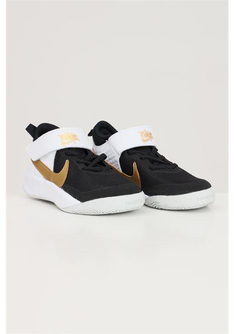 Black gold baby team hustle d 10 sneakers nike  NIKE | Sneakers | CW6736002